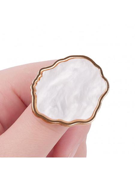 Палитра для смешивания на кольце (белая)