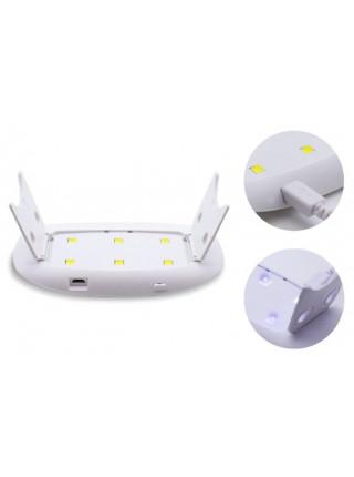 Лампа LED-UV SUN Mini, 6 Вт (розовая)