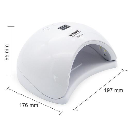 Лампа для сушки гель лака SunX1 Plus LED 48W (белая) в Хабаровске