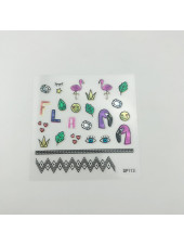 3D наклейки для дизайна ногтей №113