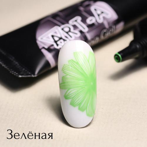 Гель паста для стемпинга Art-A зеленая
