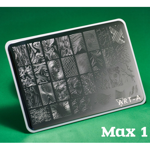 Пластина для стемпинга Art-A MAX 1-34