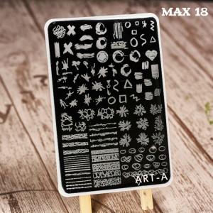 Пластина для стемпинга Art-A MAX 18-51