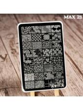 Пластина для стемпинга Art-A MAX 21-45