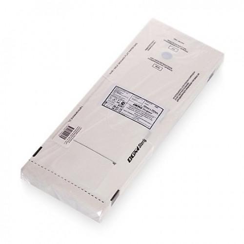 Пакеты бумажные самозапечатывающиеся для стерилизации DGM STERIGUARD 100x250 мм (белые) 100 шт. в Хабаровске