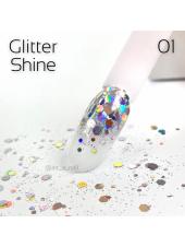 Глиттер для ногтей Shine Art-A 01 1гр